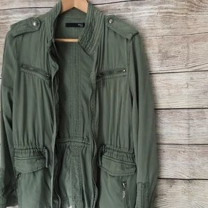 MAX JEANS Army Green Utility Jacket